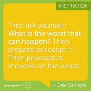 Dale Carnegie Quote - Fitness Motivation