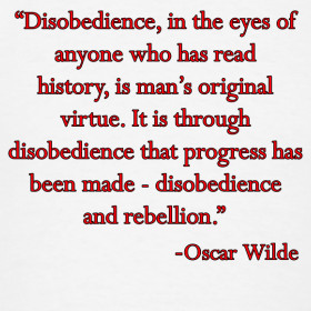 Disobedience Quotes