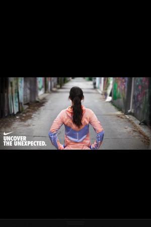 Nike running quote.