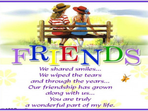 has friends must himself be friendly but there is