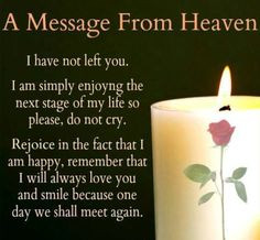 COMFORT FOR THE BEREAVED: Repin and share so it can be a word of ...