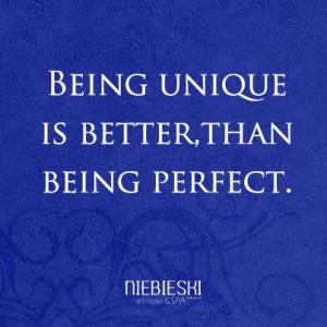 Being unique #quotes #cytaty #niebieski