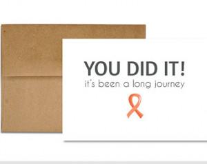 Congratulations - Last Chemo Treatm ent ...