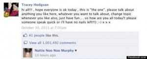 Facebook Update Status Don