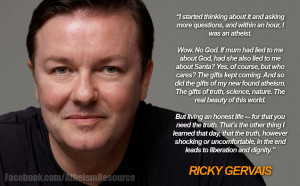 Ricky Gervais on the