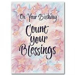 Drowsy bible birthday wishes cards