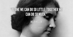 helen keller sunflower quote