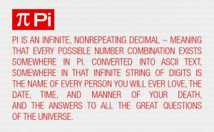 Pi and the Meaning of Life