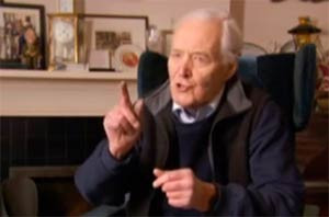 Tony Benn interview from Michael Moore's 'Sicko' #1