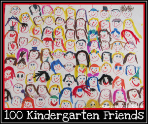 kindergarten friendship unit