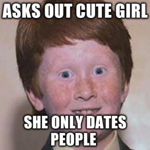 Over Confident Ginger Meme...