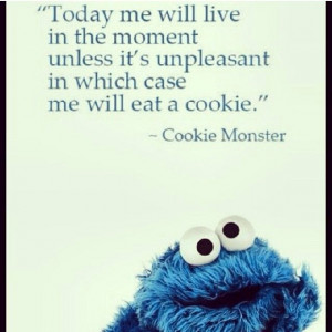 quotes cookie monster quote iphone cute cookie monster quotes melissa ...