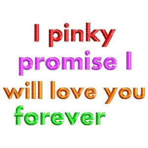 Design name: lovequotes_pinkypromise