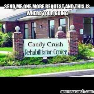 Generate a meme using CandyCrush