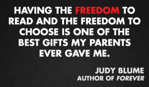 Judy Blume -11 quotes from Authors on Censorship & Banned Books - # ...