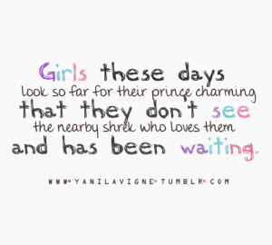 Prince Charming Quotes Tumblr P/s : its not prince charming,