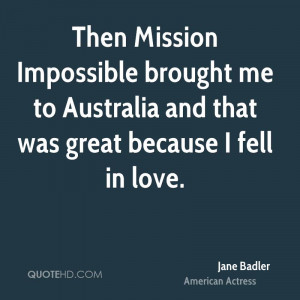 Mission Impossible Quotes