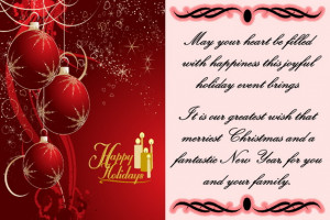Happy Holidays Wishes Quotes 2014