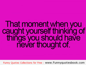 Funny Thinking About You Quotes
