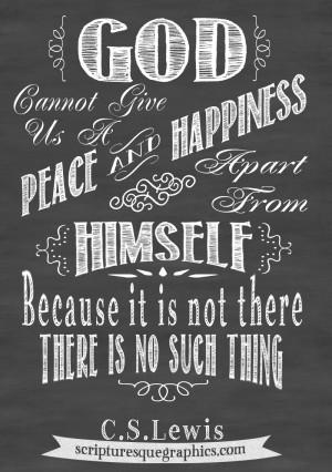 Best Lewis Quotes God