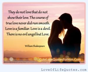 posts william shakespeare quote on love william shakespeare quote ...