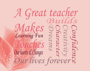 Teachers Gifts Year end gifts Teacher quotes Personalised Teacher ...