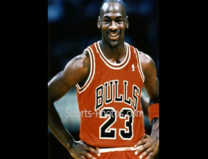 ... Jordan is famous for being cut from his high school basketball team