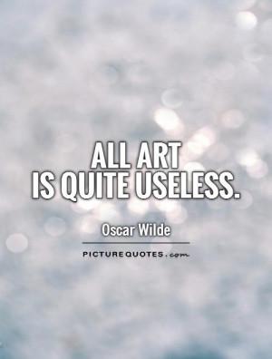 Oscar Wilde Quotes Art Quotes