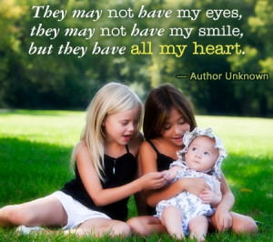 Wonderful Quotes and Sayings About Adoption