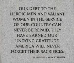 Veterans Inspirational Quotes