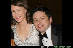 Anne Wojcicki Sergey Brin Wife