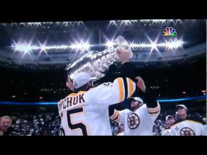 boston bruins win stanley cup 2011 funny brad marchand punching