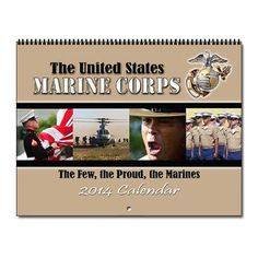 Marine Corps Wall Calendar combines famous USMC quotes with ...