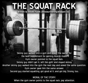 The Squat Rack (by Brooks Kubik)