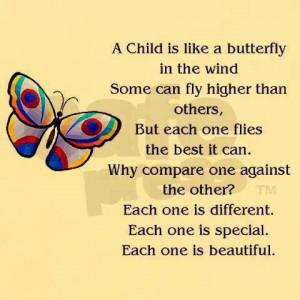 Children are all unique