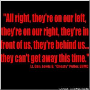 USMC; LOVE this quote.