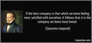 More Giacomo Leopardi Quotes
