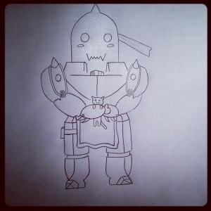 Alphonseelric Humanform