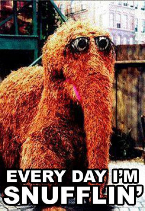 Every day I'm Snufflin'….