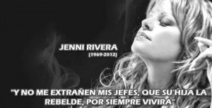 She is no doubt the best in Mexican banda music, she was loved by sooo ...