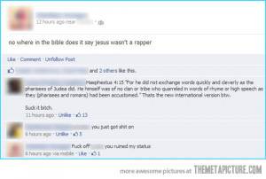 Funny photos funny Jesus rapper Facebook