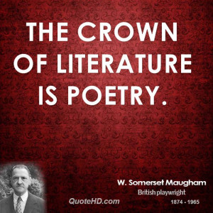 Home Quotes Somerset Maugham Picture Quote
