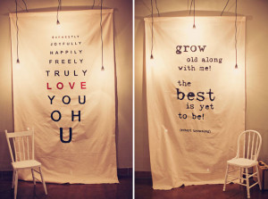 ... Austin / Banners by Kara Melwood (via Etsy) / Via Green Wedding Shoes