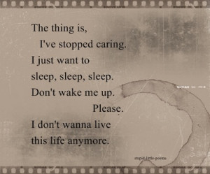 Sad Poems About Suicide