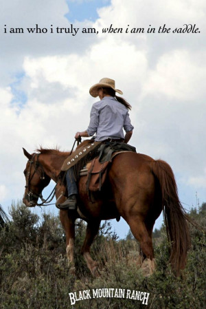 Cowgirl And Her Horse Quotes