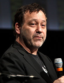 Sam Raimi at the 2012 San Diego Comic-Con International .