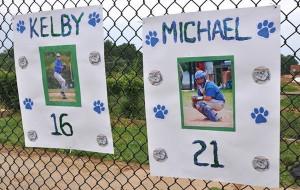 Baseball senior night posters