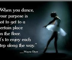 Inspirational Dance Quotes...
