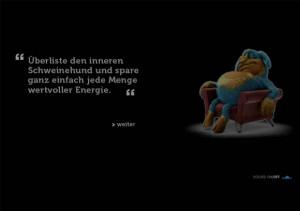 Energiag, der innere Schweinehund 3D by ovos