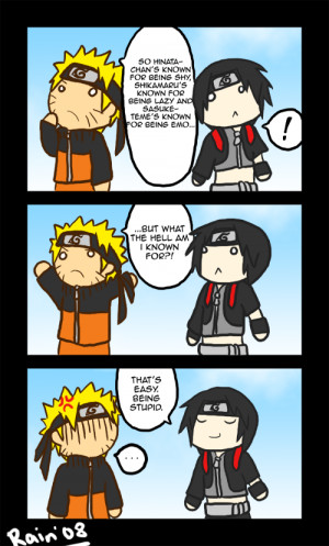 It's Naruto, Dattebayo! What am I known for?!